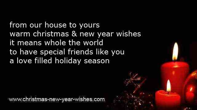 good cheerful  xmas and happy new year sayings