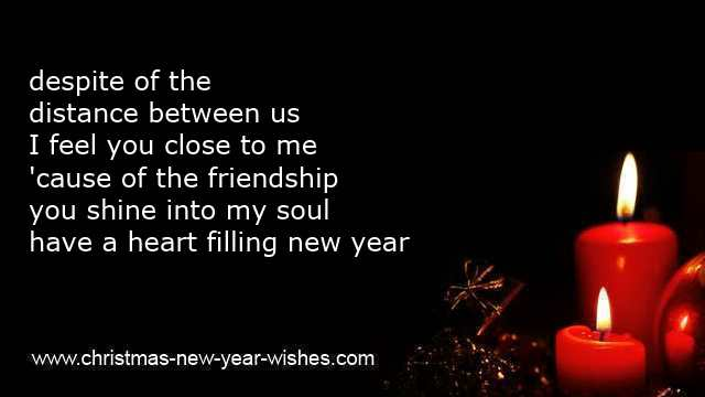 new year greetings friendship quotes