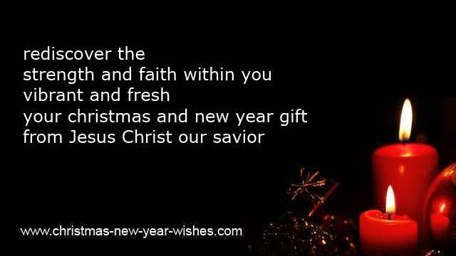 religious christmas and new year verses