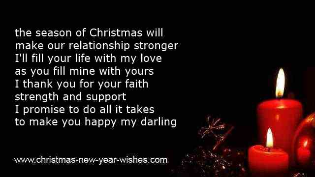 romantic christmas poems of love