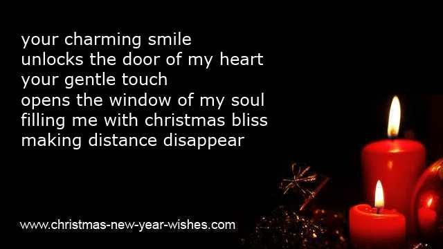 Romantic Christmas Messages And Love Poems Boyfriend